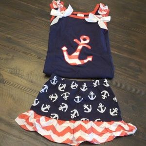 Other - Little girls sailor outfit